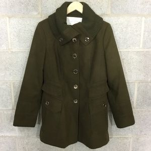 Jessica Simpson Coat Size L Army Green Lined